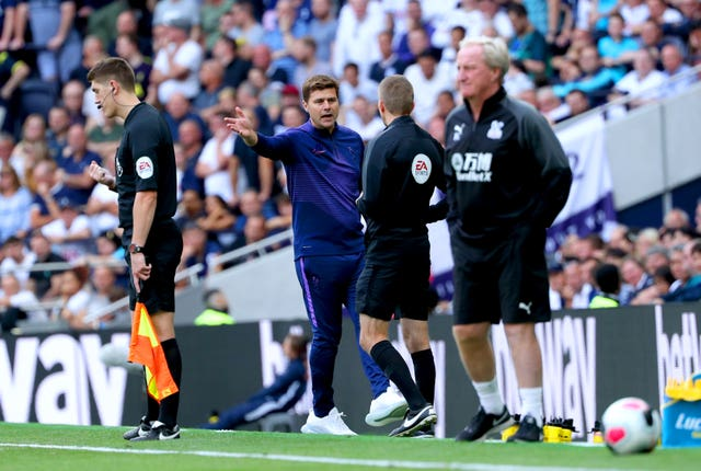 Mauricio Pochettino was happy with his side's intensity against Crystal Palace