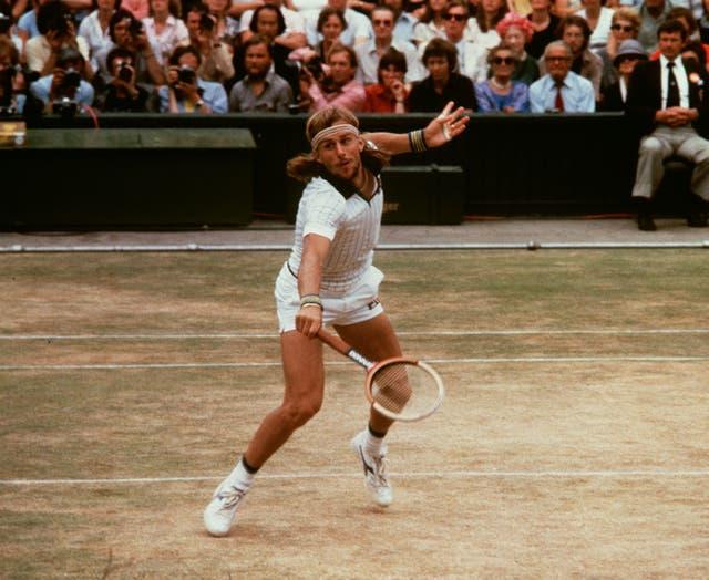 Bjorn Borg has won five consecutive Wimbledon titles