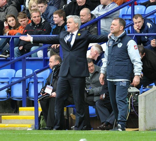 Soccer – Barclays Premier League – Bolton Wanderers v Queens Park Rangers – Reebok Stadium