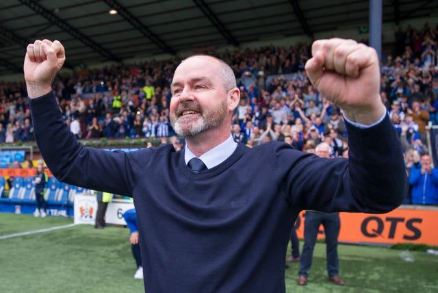 Steve Clarke led Kilmarnock to wins over Celtic and Rangers