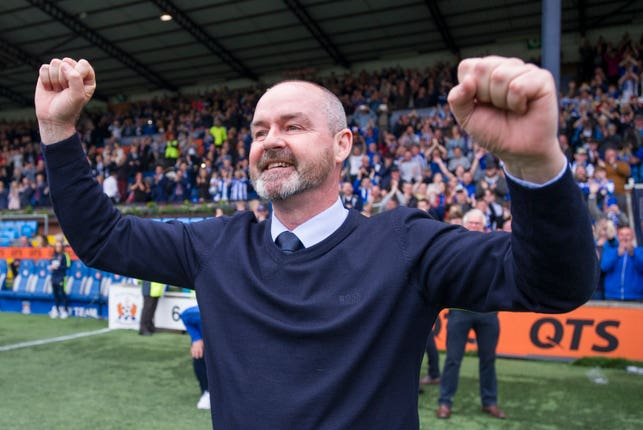Steve Clarke led Kilmarnock to wins over Celtic and Rangers