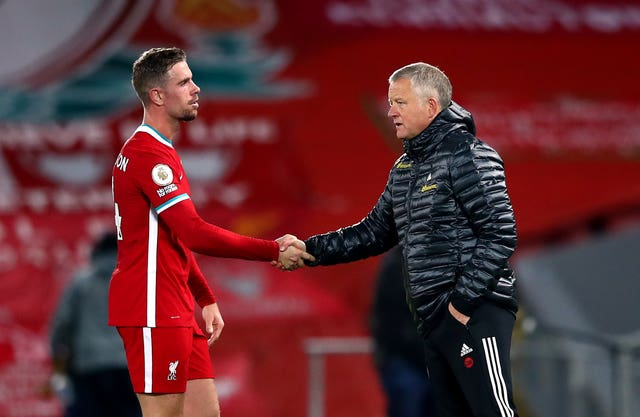Chris Wilder's men could not hold onto their early lead at Anfield