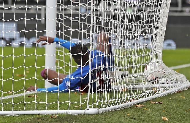 Wilfried Zaha scored for Palace