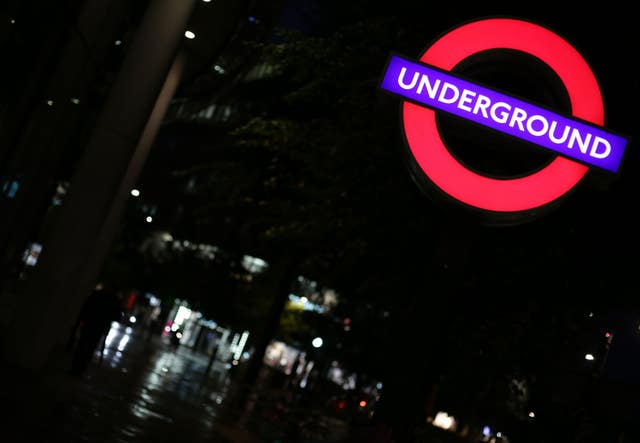 Under the plans, ads would be banned on the London Underground, as well as buses and the Overground (Yui Mok/PA)