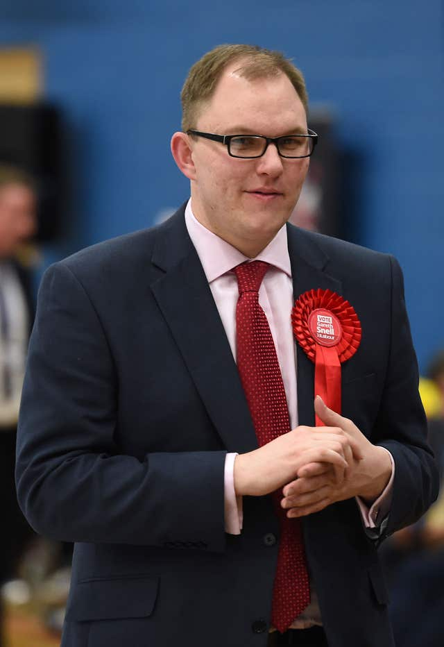 Gareth Snell used a football analogy to explain the complexities of Brexit (Joe Giddens/PA)