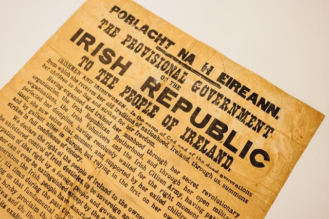Rare Proclamation sells at auction