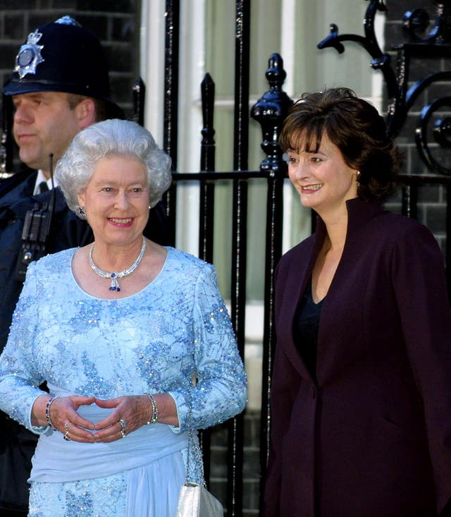 The Queen and Cherie Blair