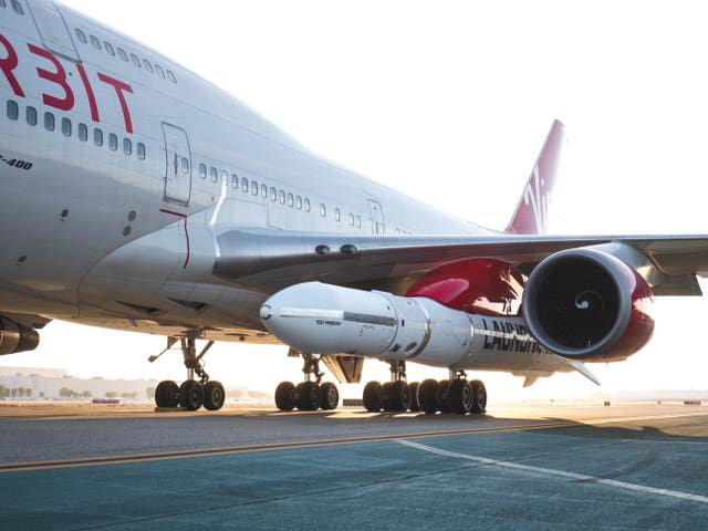 Virgin Orbit's LauncherOne