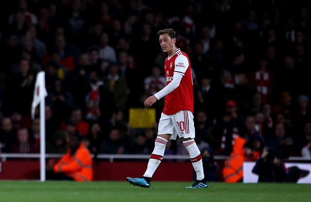 Mesut Ozil did not play a minute of football since Project Restart.