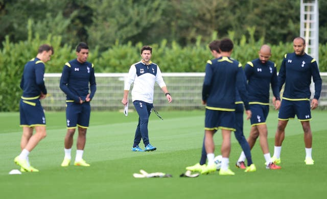 Soccer – UEFA Europa League – Qualifying – Play Off – Second Leg – Tottenham Hotspur v AEL Limassol – Tottenham Hotspur Training Session – Enfield Training Centre
