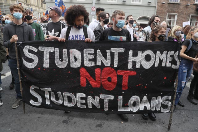 Winter of Housing Discontent protest
