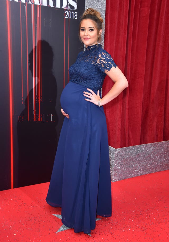 Jacqueline Jossa British Soap Awards 2018 – London