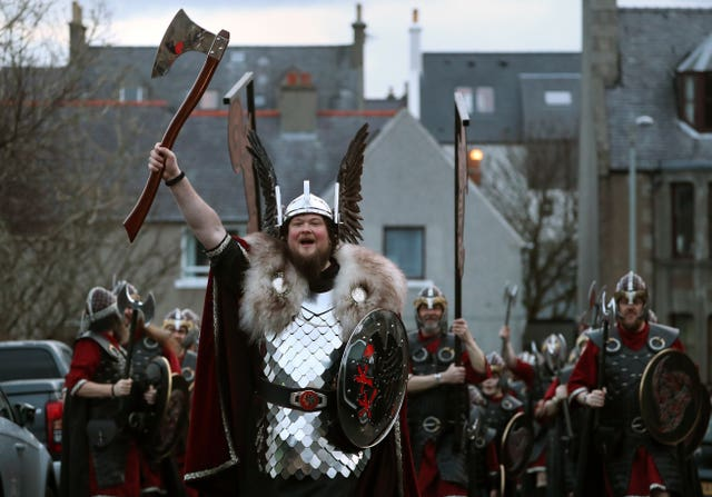 Up Helly Aa Viking festival