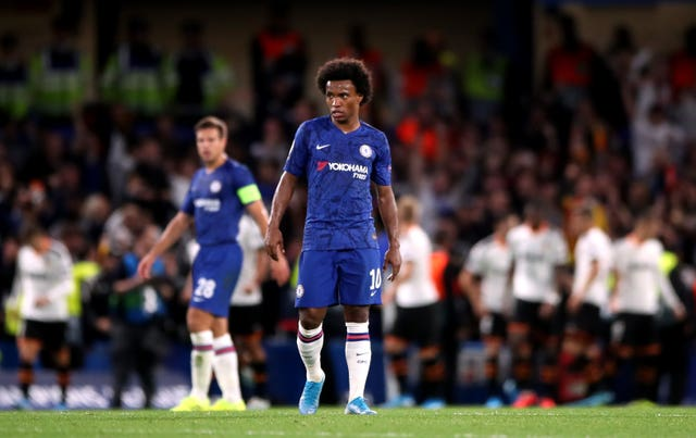 Willian was not impressed