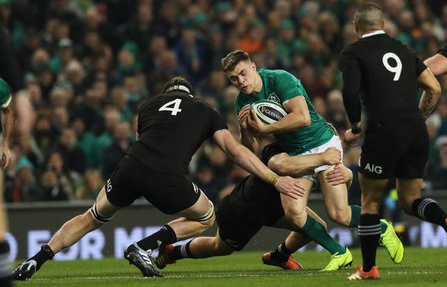 New Zealand's Brodie Retallick starred in the win over Ireland