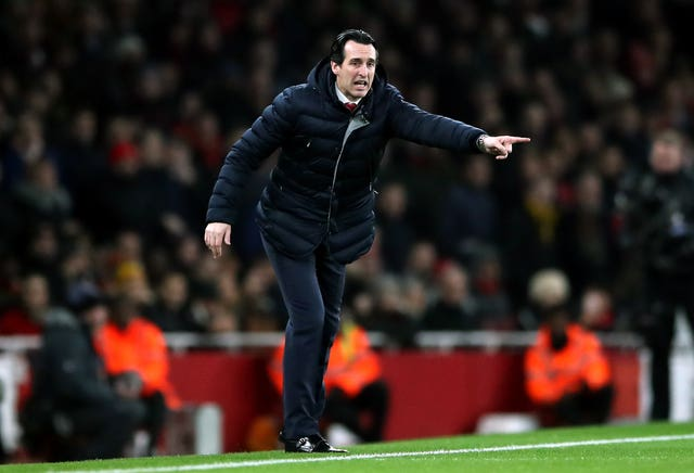 Emery's side would win the return game 2-0 in January - the last meeting before Baku.