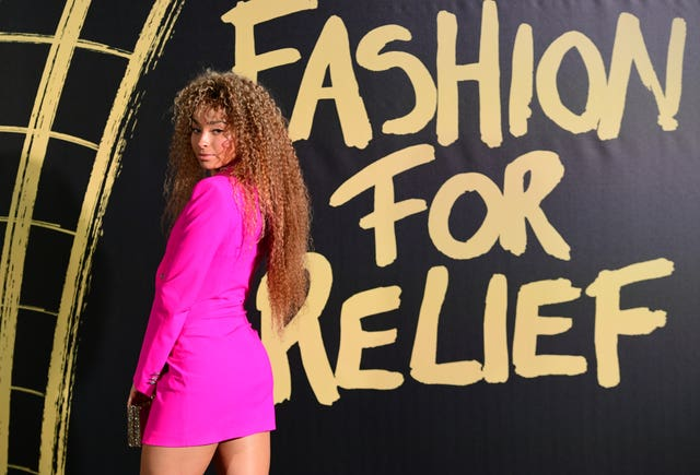 Fashion For Relief Gala – Red Carpet – London