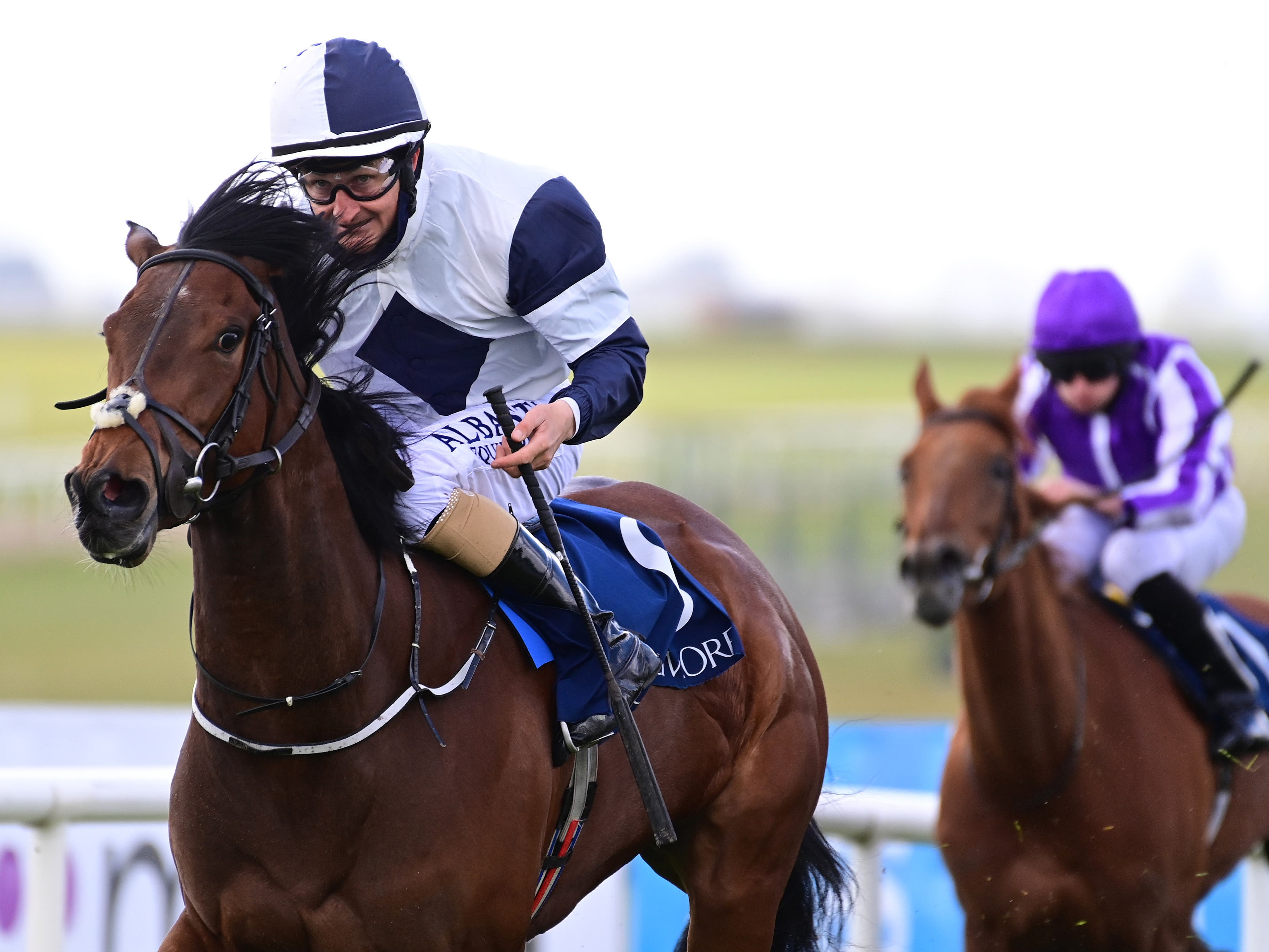 No Speak Alexander lifted the Athasi Stakes at the Curragh (PA)