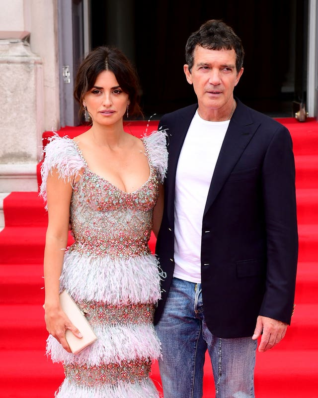 Antonio Banderas and co-star Penelope Cruz