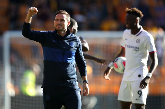Frank Lampard thinks Tammy Abraham can make the England squad