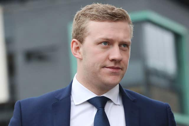 Stuart Olding was also acquitted (Niall Carson/PA)