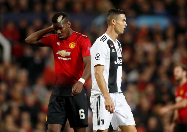 Paul Pogba faced Juventus with Manchester United in last season's Champions League group stage