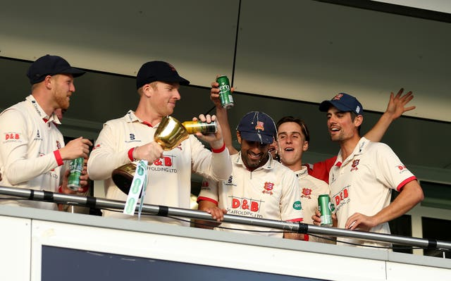 Essex won the County Championship last year (Steven Paston/PA)