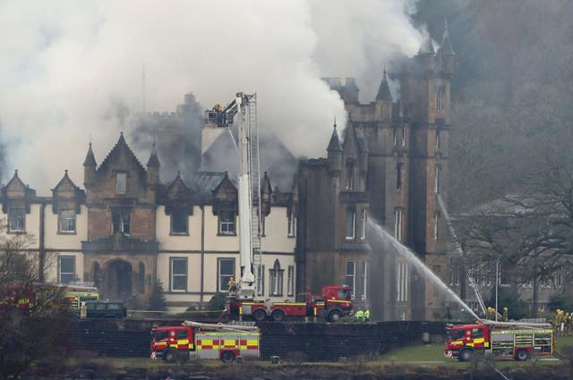 Cameron House Hotel fire