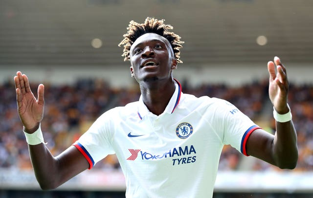Abraham has been in fine form for Chelsea