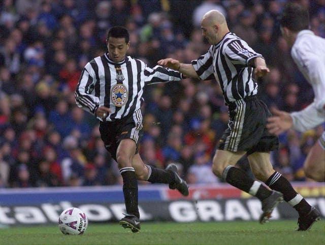 Leeds/Newcastle Solano goal