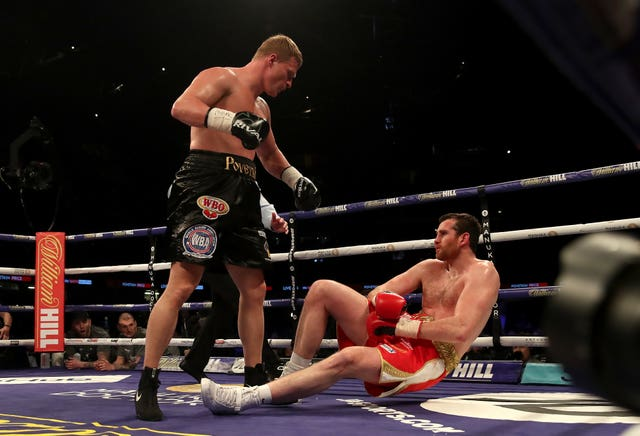 Alexander Povetkin, left, was in impressive form in Cardiff on Saturday