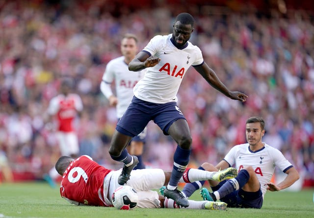 Tottenham defender Davinson Sanchez suffered an ankle injury on international duty