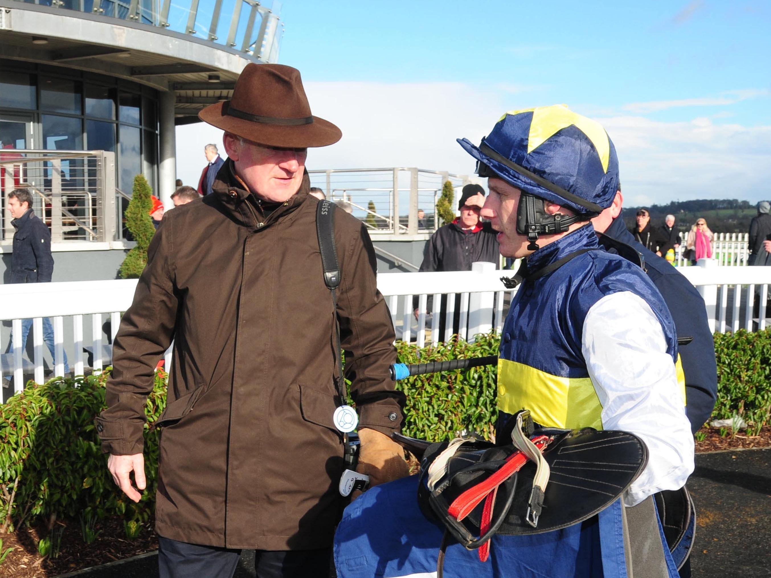 Paul Townend and trainer Willie Mullins enjoyed a double at Thurles (PA)