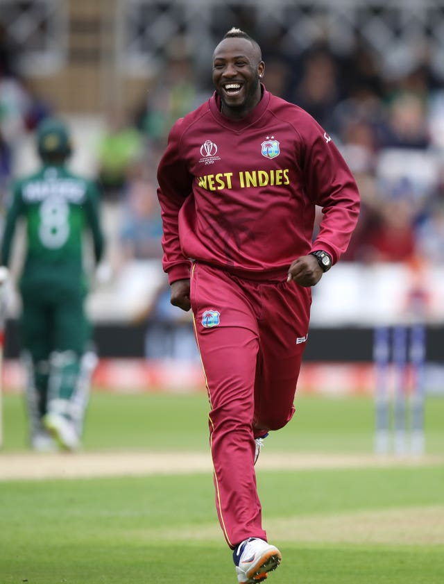 Andre Russell sparked the West Indies' bowling performance