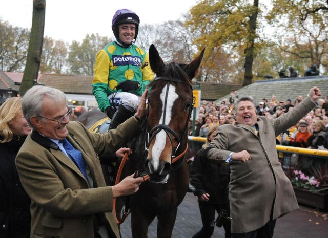 Kauto Star was virtually unstoppable at Haydock