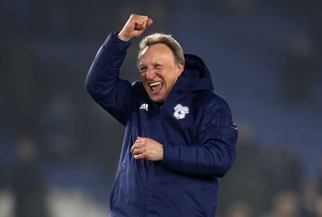 Cardiff boss Neil Warnock has overseen eight promotions during his career (Andrew Matthews/PA).