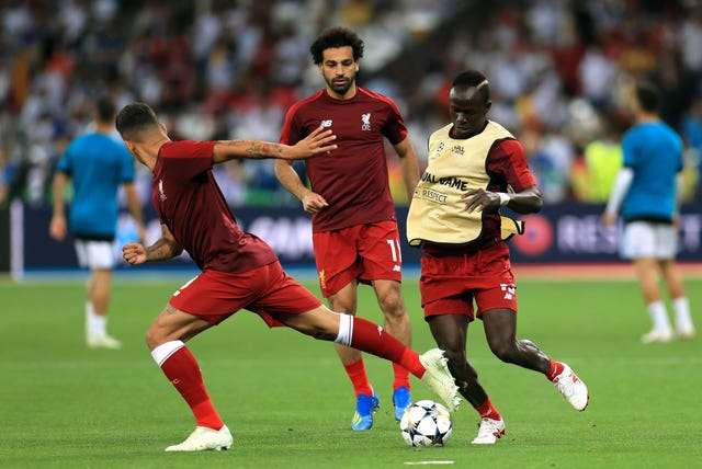 Liverpool much-vaunted attacking trio Roberto Firmino of Mohamed Salah and Sadio Mane