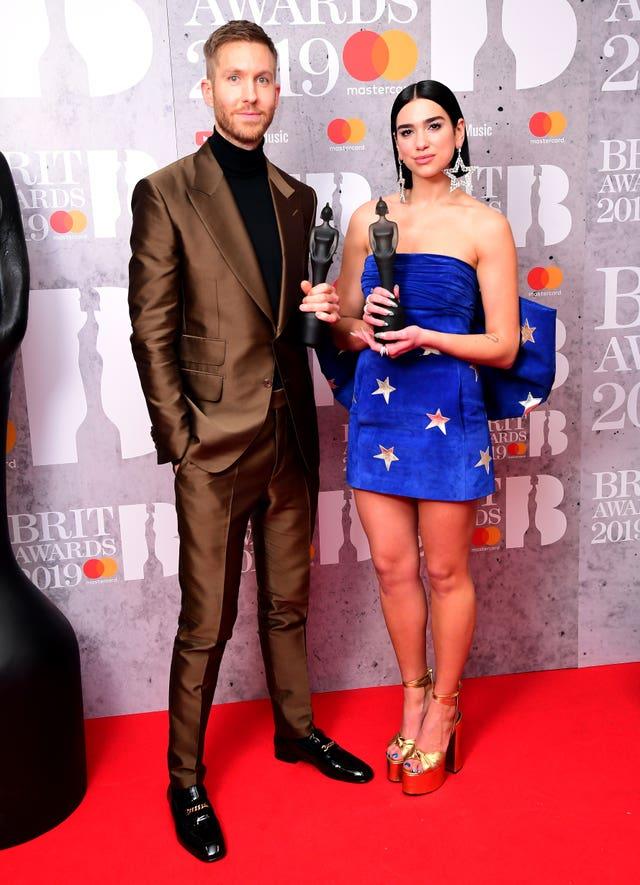 Brit Awards 2019 – Press Room – London