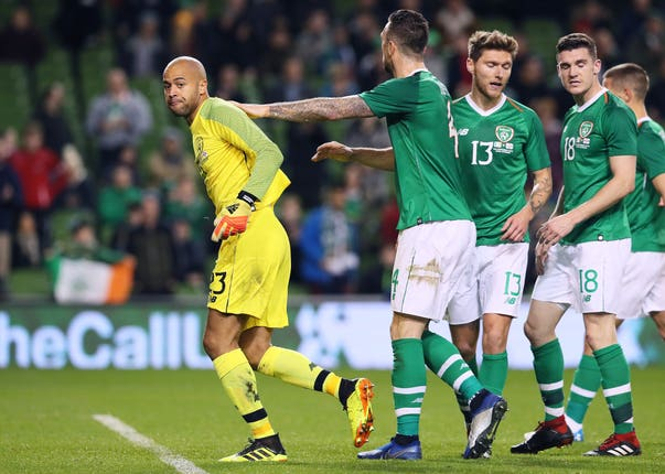 Darren Randolph has been in fine form for the Republic of Ireland