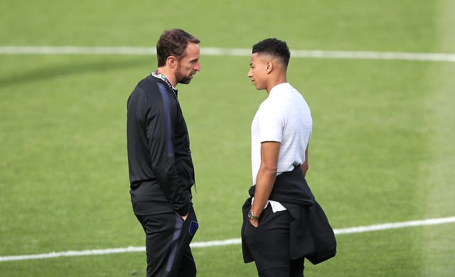Gareth Southgate has given Jesse Lingard all 24 caps