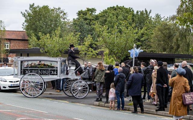 Denise Johnson funeral