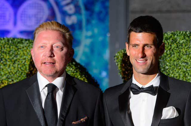 Becker used to coach Djokovic