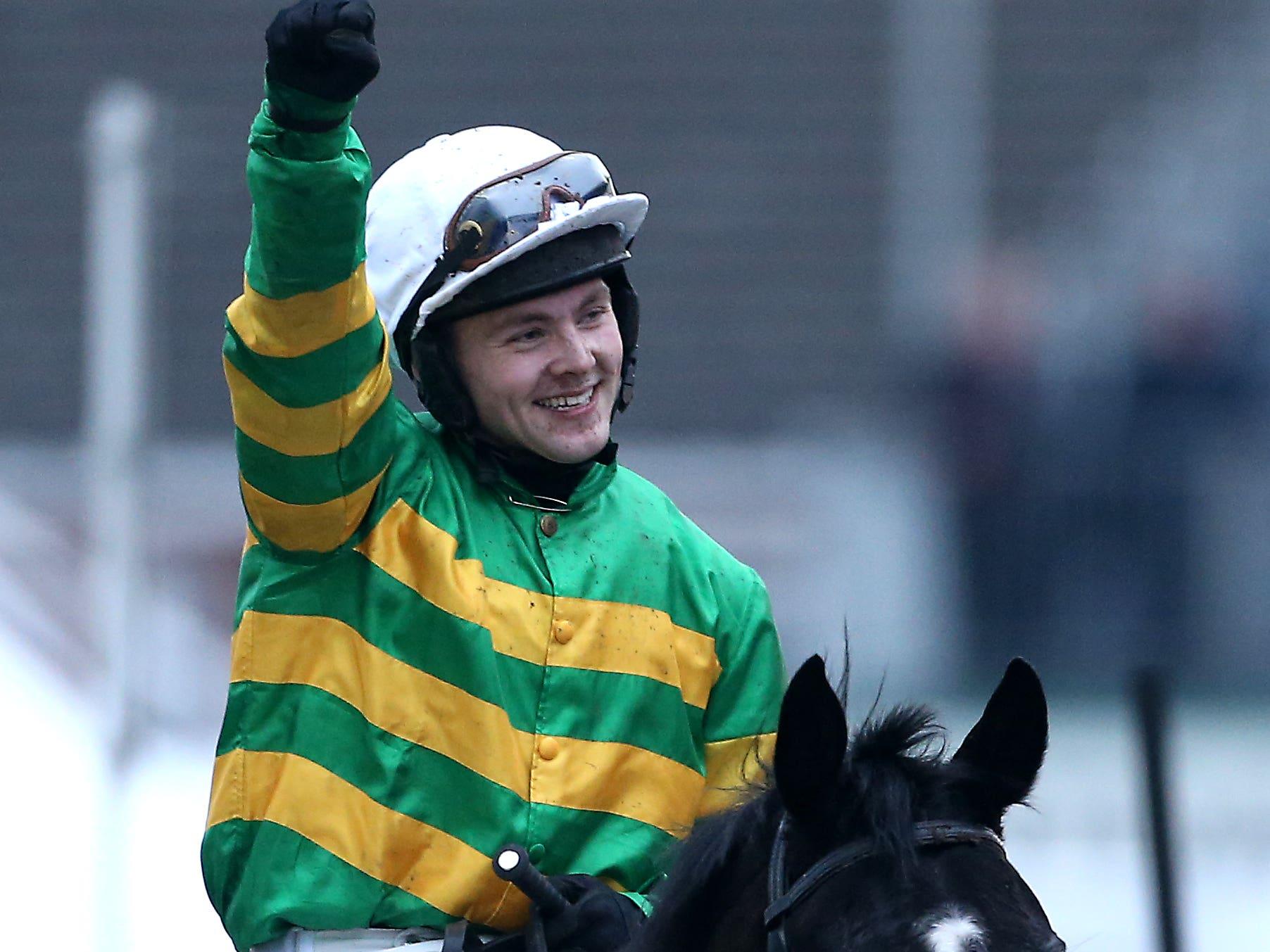 Jonjo O'Neill Jr has a bright future ahead (Paul Harding/PA)