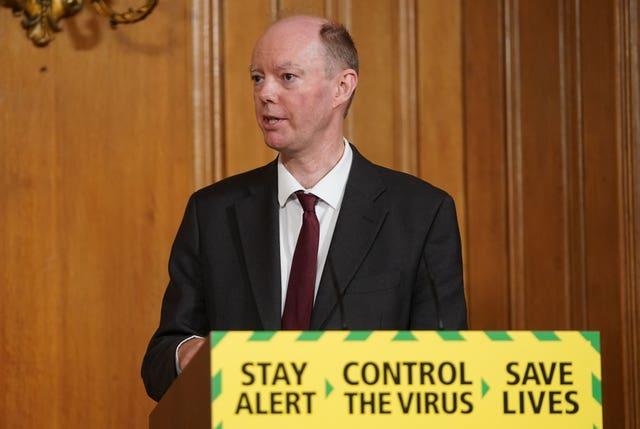 Coronavirus Whitty