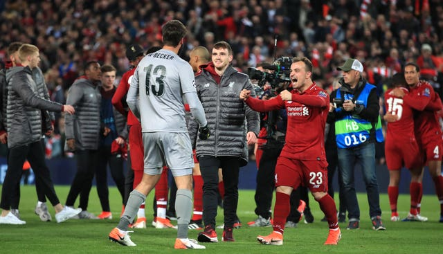 Xherdan Shaqiri was replaced by Daniel Sturridge in the closing stages of Tuesday's match