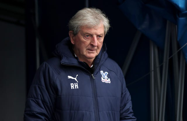 Crystal Palace manager Roy Hodgson was left frustrated