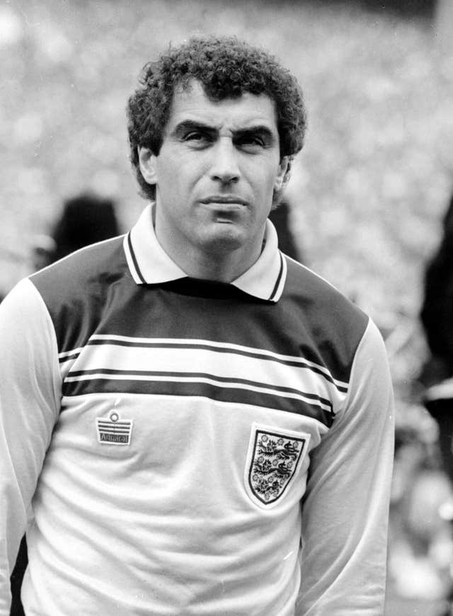 Peter Shilton holds the record for most England appearances