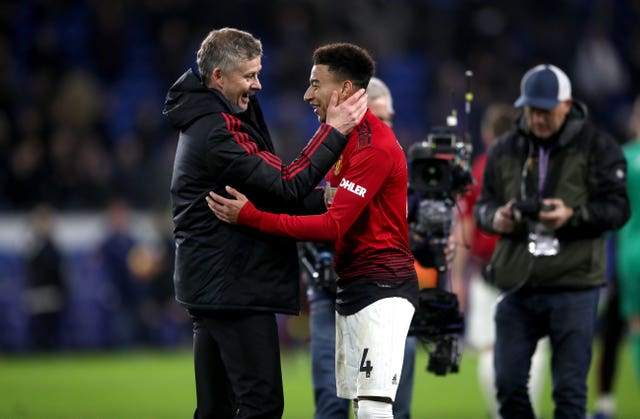Ole Gunnar Solskjaer has a long-standing relationship with Jesse Lingard