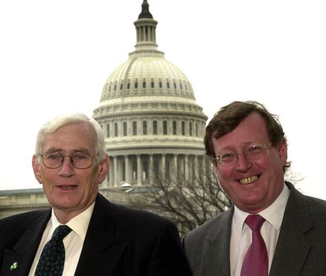 Seamus Mallon and David Trimble