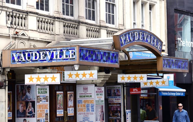 The Vaudeville theatre in London